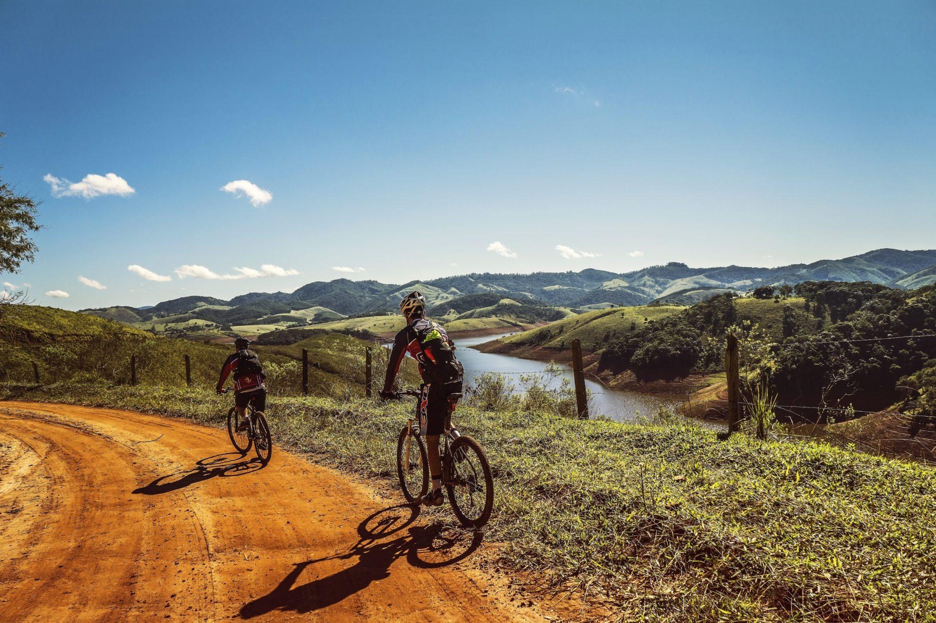 intermediate bicycling trails