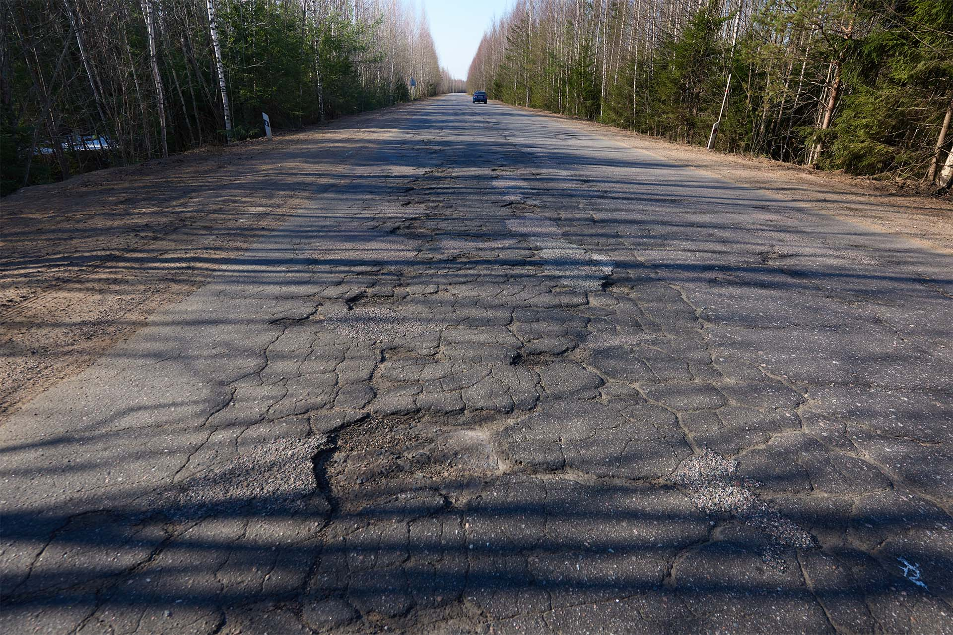 Photo of South Carolina Highway Defects