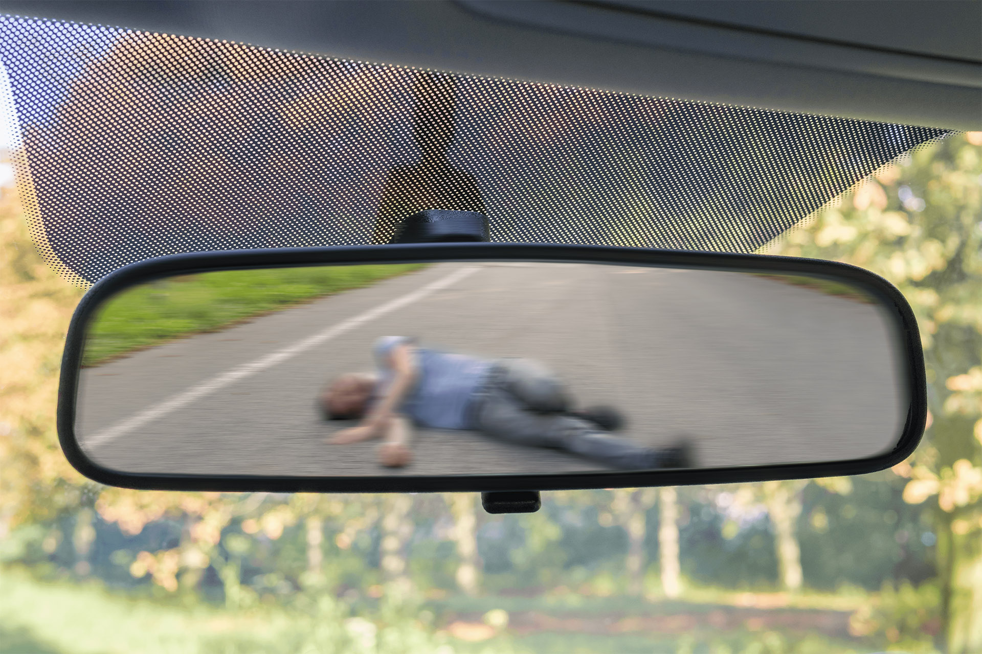Photo of a Hit And Run Accident