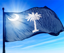 Photo of the Flag of South Carolina